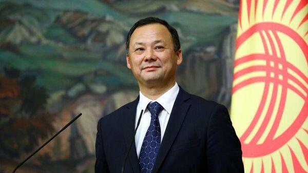 Министр иностранных дел Кыргызстана Руслан Казакбаев - Sputnik Тоҷикистон