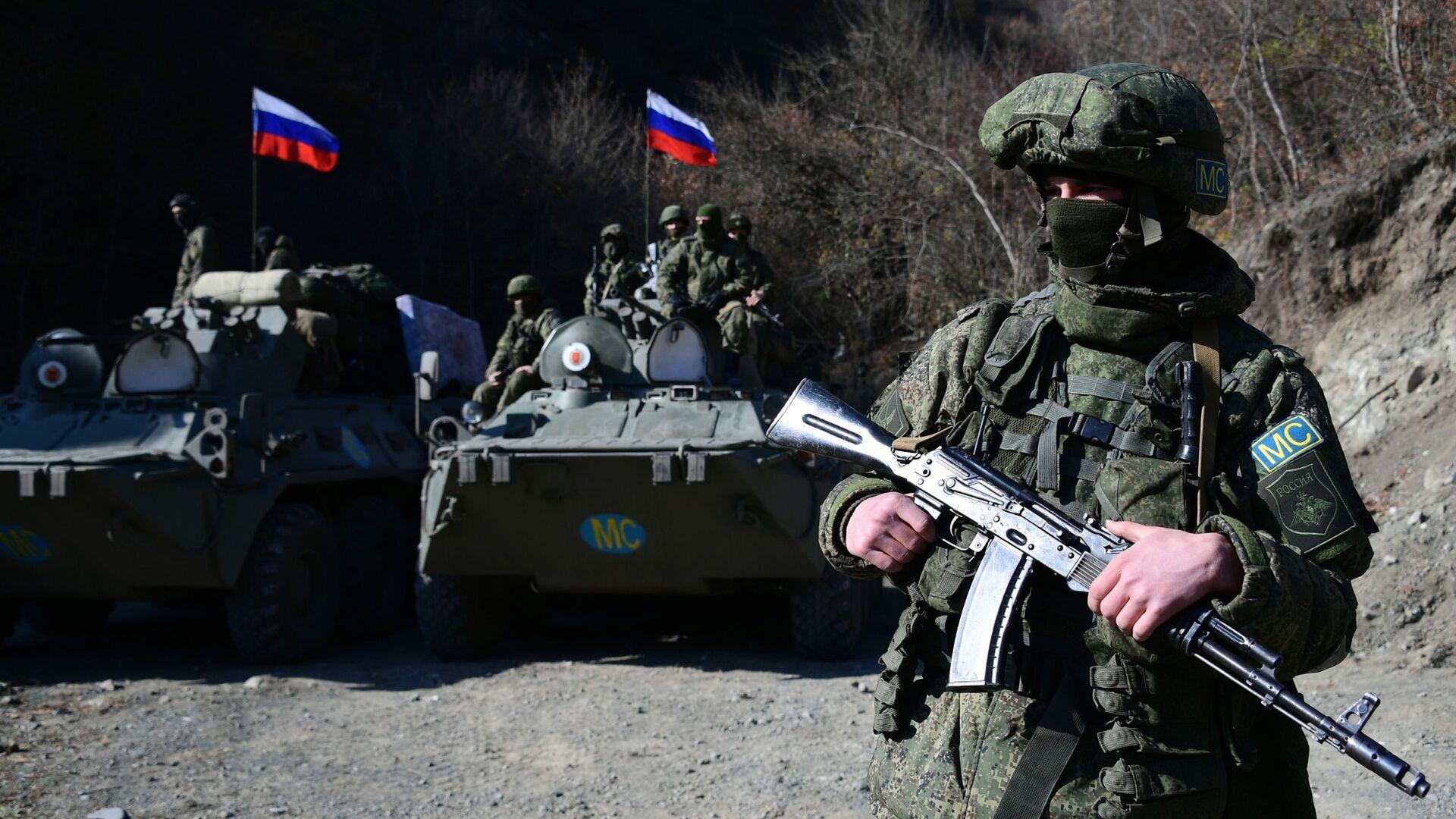 Российские миротворцы в Нагорном Карабахе - Sputnik Таджикистан, 1920, 22.06.2021