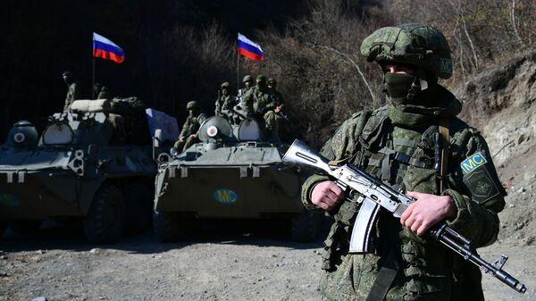 Российские миротворцы в Нагорном Карабахе - Sputnik Таджикистан