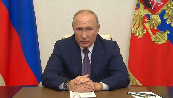 Путин призвал помнить об уроках Нюрнбергского трибунала - Sputnik Тоҷикистон