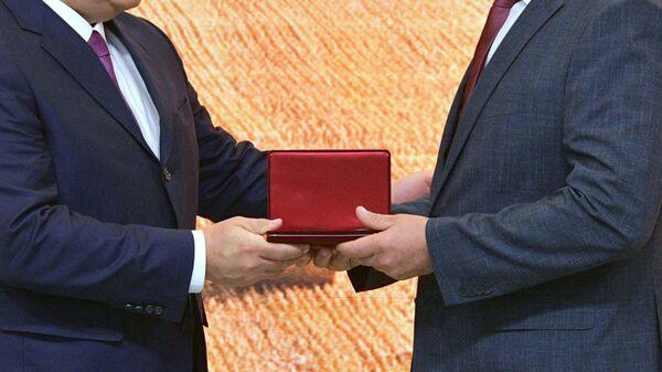 Награждение, архивное фото - Sputnik Таджикистан