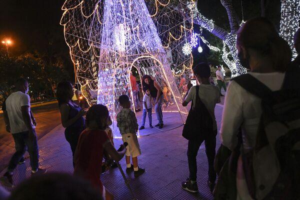 Рождественская иллюминация в Венесуэле  - Sputnik Таджикистан