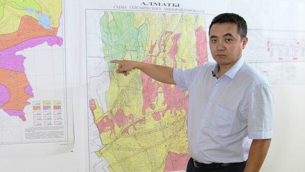 Управляющий директор по производству АО КазНИИСА, почетный строитель Казахстана, кандидат технических наук Ералы Шокбаров - Sputnik Таджикистан