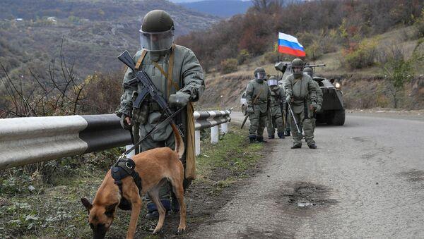 Специалисты противоминного центра Минобороны РФ приступили к работе в Карабахе - Sputnik Тоҷикистон