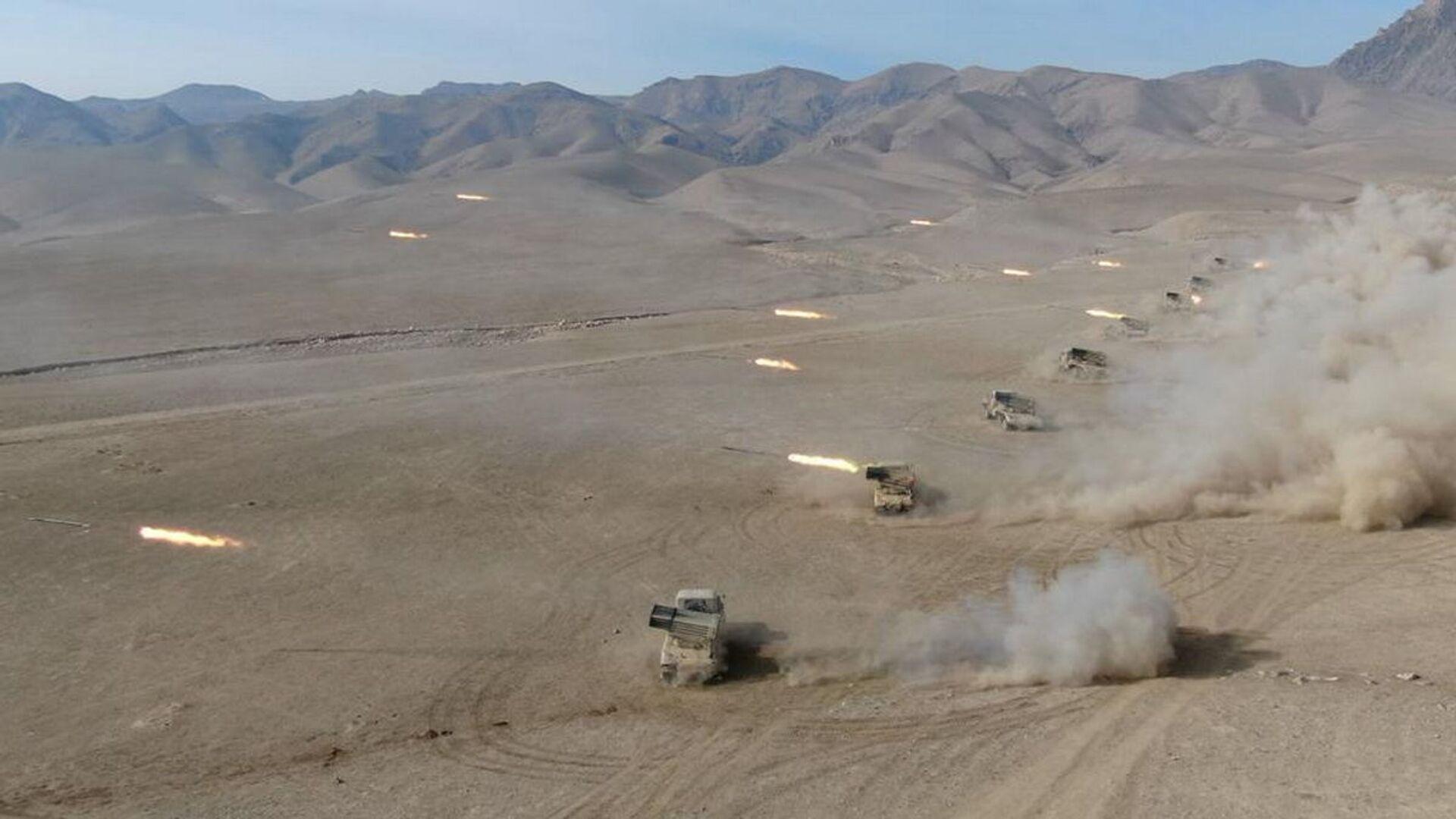 Завершился основной этап совместного учения военнослужащих 201-й российской военной базы и подразделений вооруженных сил Республики Таджикистан - Sputnik Таджикистан, 1920, 06.09.2021