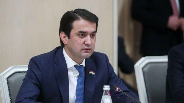 Глава парламента Таджикистана Рустам Эмомали - Sputnik Тоҷикистон