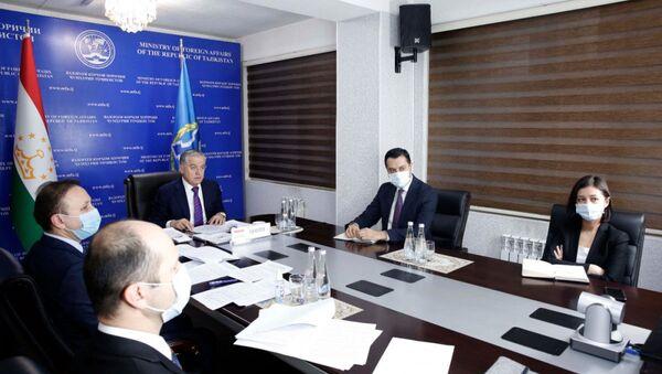 Участие Министра иностранных дел в заседании Совета министров иностранных дел ОДКБ - Sputnik Таджикистан