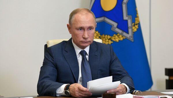 Президент РФ В. Путин провел сессию Совета коллективной безопасности ОДКБ - Sputnik Таджикистан