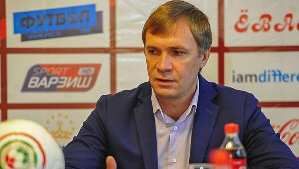 Главный тренер душанбинского «Истиклола» Виталий Левченко - Sputnik Таджикистан