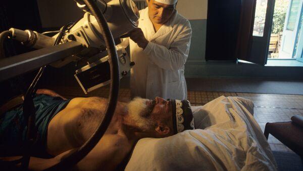 В рентген-кабинете республиканского санатория Зумрад, архивное фото - Sputnik Таджикистан