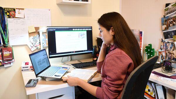 Студенты МГУ перешли на дистанционное обучение - Sputnik Таджикистан