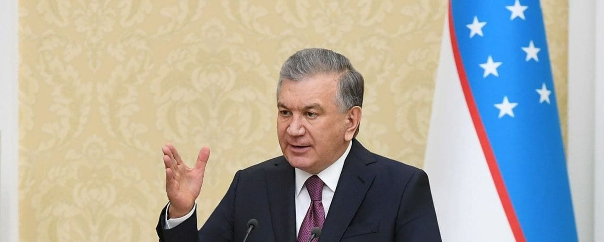 Президент Узбекистана Шавкат Мирзиёев - Sputnik Таджикистан, 1920, 11.12.2020