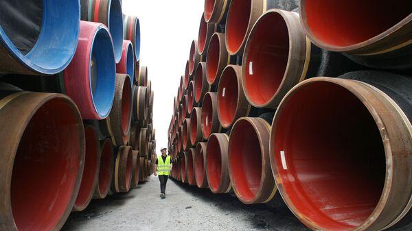 Cтроительство газопровода Северный поток (Nord Stream) - Sputnik Тоҷикистон