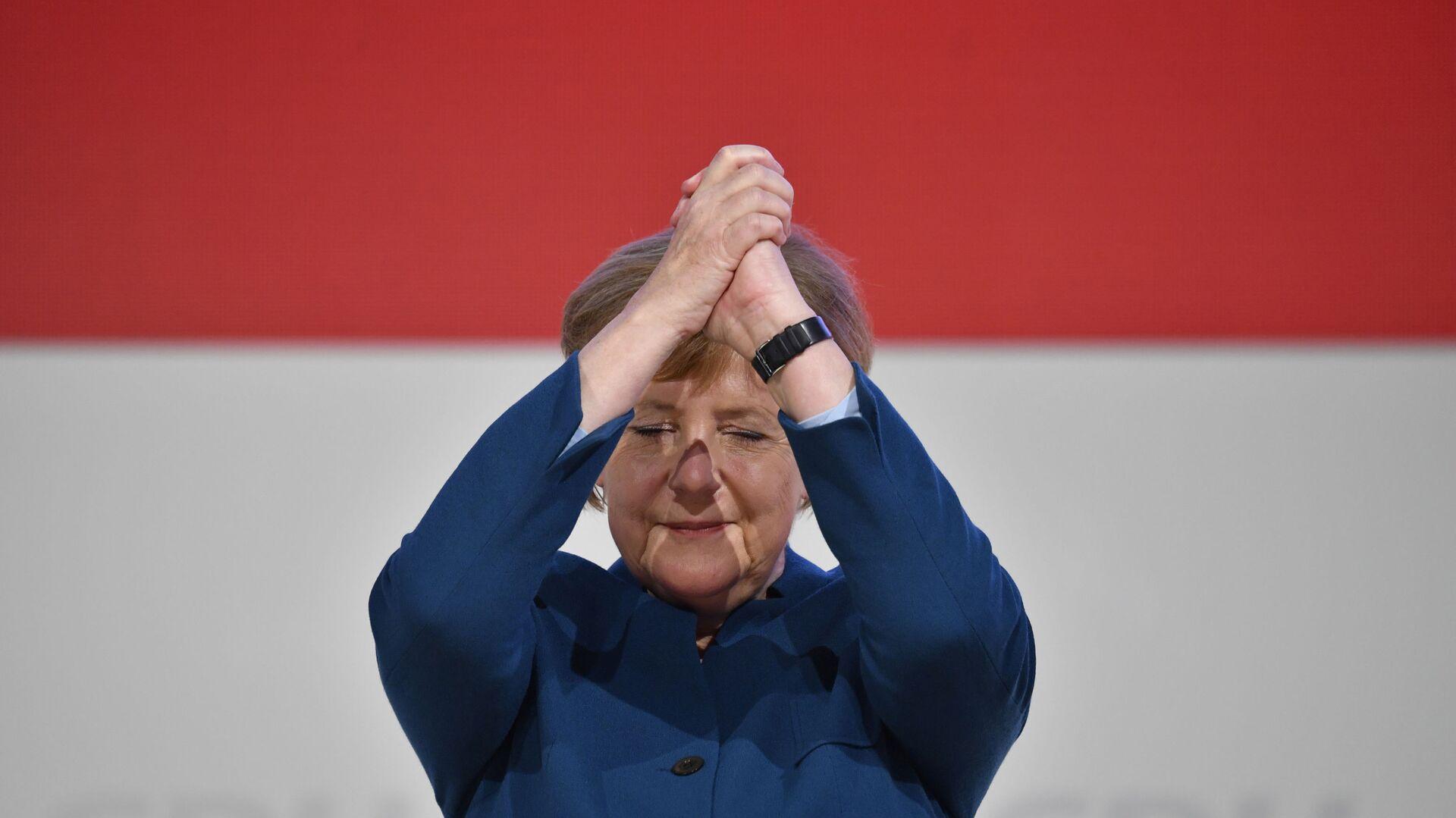 Канцлер Германии Ангела Меркель  - Sputnik Таджикистан, 1920, 20.04.2021