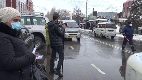 Акция борьба с коронавирусом в ГБАО - Sputnik Тоҷикистон