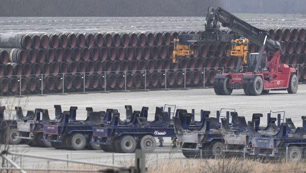 Трубы для газопровода Nord Stream 2 - Sputnik Тоҷикистон