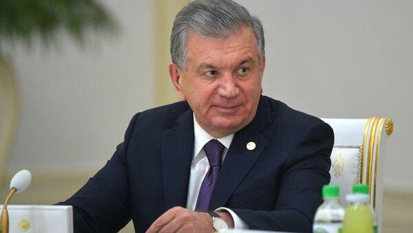 Первое выступление президента Узбекистана Шавката Мирзиёева на заседании Высшего совета ЕАЭС - YouTube - Sputnik Тоҷикистон