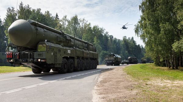 Стратегический ракетный комплекс с межконтинентальной баллистической ракетой мобильного базирования ПГРК Ярс - Sputnik Тоҷикистон