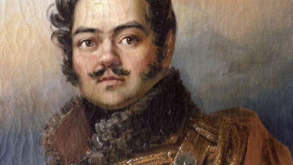 Денис Васильевич Давыдов (1784-1839) - поэт, герой Отечественной войны 1812 года - Sputnik Таджикистан