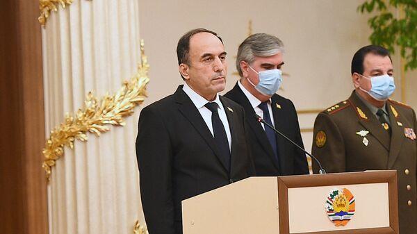 Министр транспорта Таджикистана Азим Иброхим, архивное фото - Sputnik Тоҷикистон