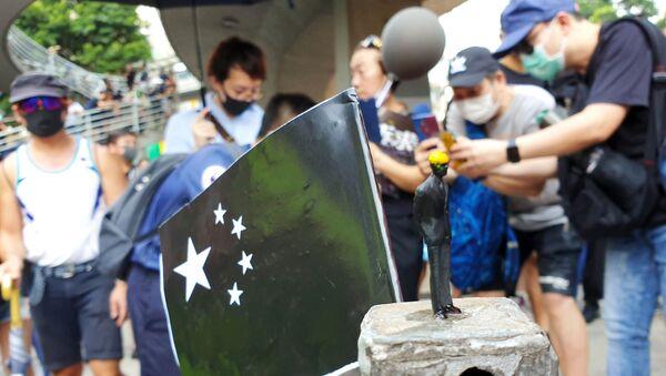 Акция протеста в Гонконге - Sputnik Таджикистан