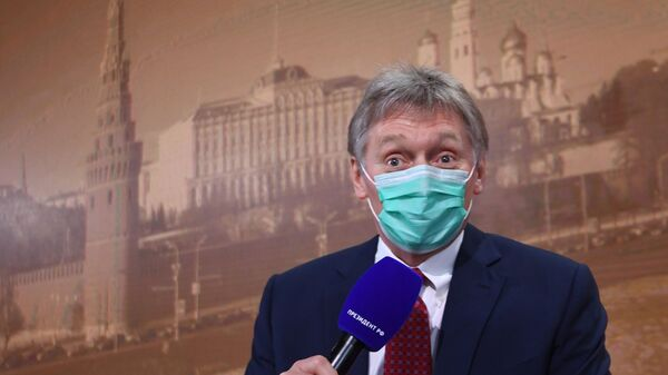 Заместитель руководителя администрации президента, пресс-секретарь президента РФ Дмитрий Песков - Sputnik Таджикистан