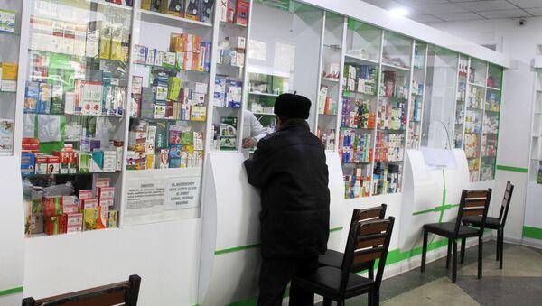 Аптека в Согдийской области Таджикистана  - Sputnik Таджикистан
