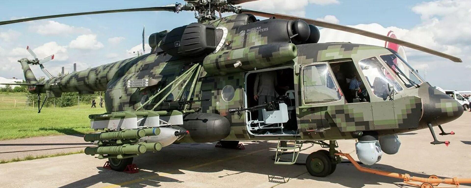 Вертолет Ми-8АМТШ-ВН - Sputnik Таджикистан, 1920, 06.08.2021