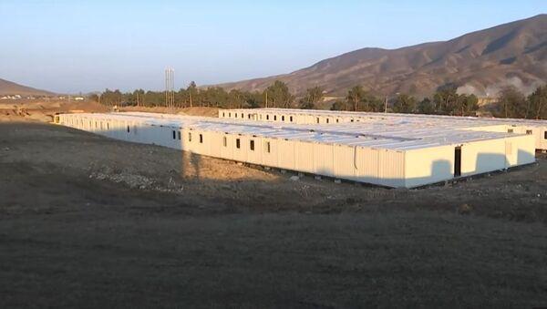 Минобороны показало  городок с российскими миротворцами в Карабахе - Sputnik Таджикистан