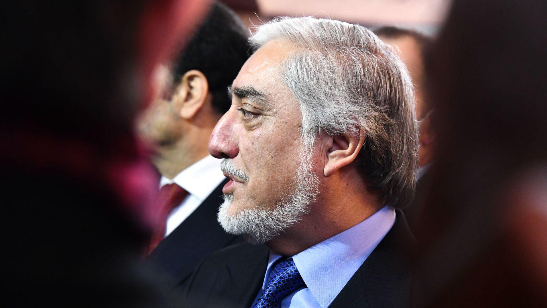 Председатель Высшего совета национального примирения Афганистана Абдулла Абдулла - Sputnik Таджикистан, 1920, 07.09.2021
