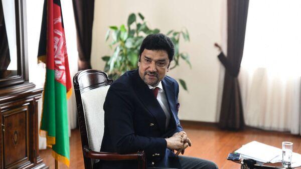 Полномочный посол Исламской Республики Афганистан Мухаммад Захир Агбар - Sputnik Таджикистан
