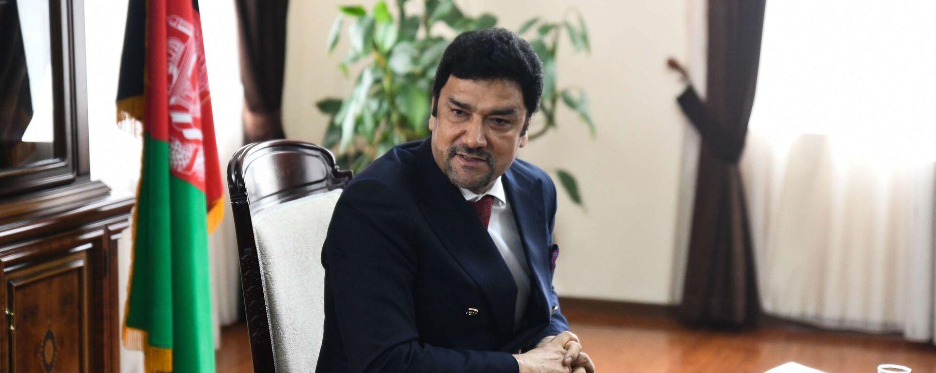 Полномочный посол Исламской Республики Афганистан Мухаммад Захир Агбар - Sputnik Таджикистан, 1920, 07.09.2021