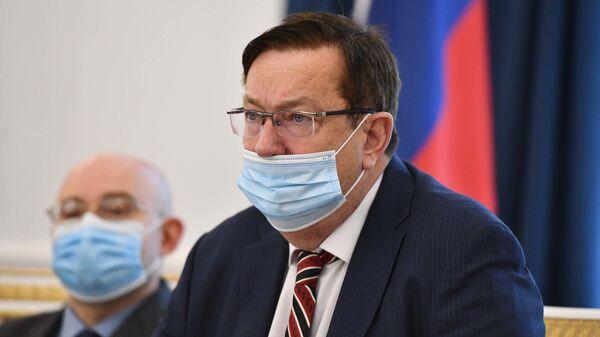 Чрезвычайный и Полномочный посол России в Таджикистане Игорь Лякин-Фролов - Sputnik Тоҷикистон