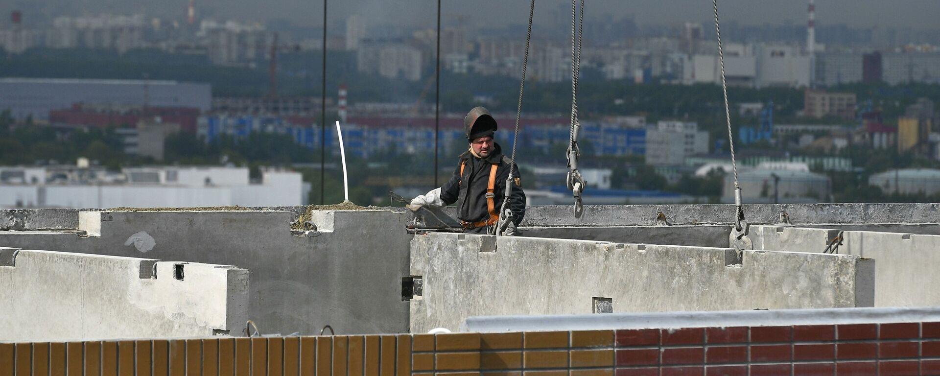 Строительство ЖК Южная Битца в Подмосковье - Sputnik Таджикистан, 1920, 03.06.2021