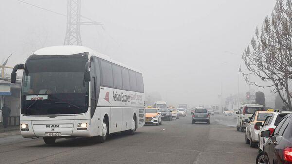 Туман в Душанбе  - Sputnik Таджикистан