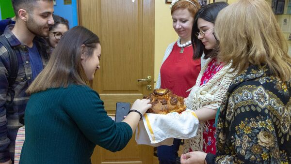 Иностранные студенты в МГППУ - Sputnik Таджикистан