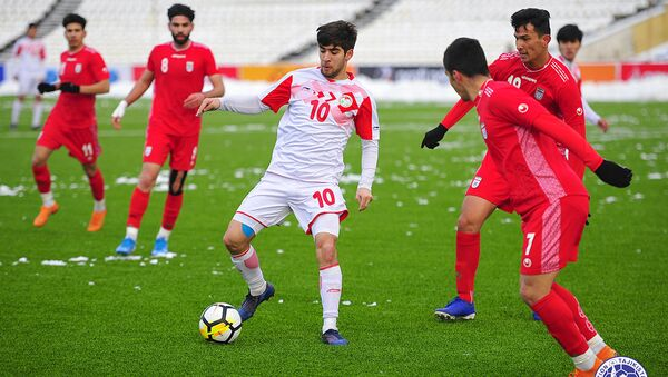Товарищеский матч. Таджикистан (U-19) - Иран (U-19) - 1: 1 - Sputnik Таджикистан