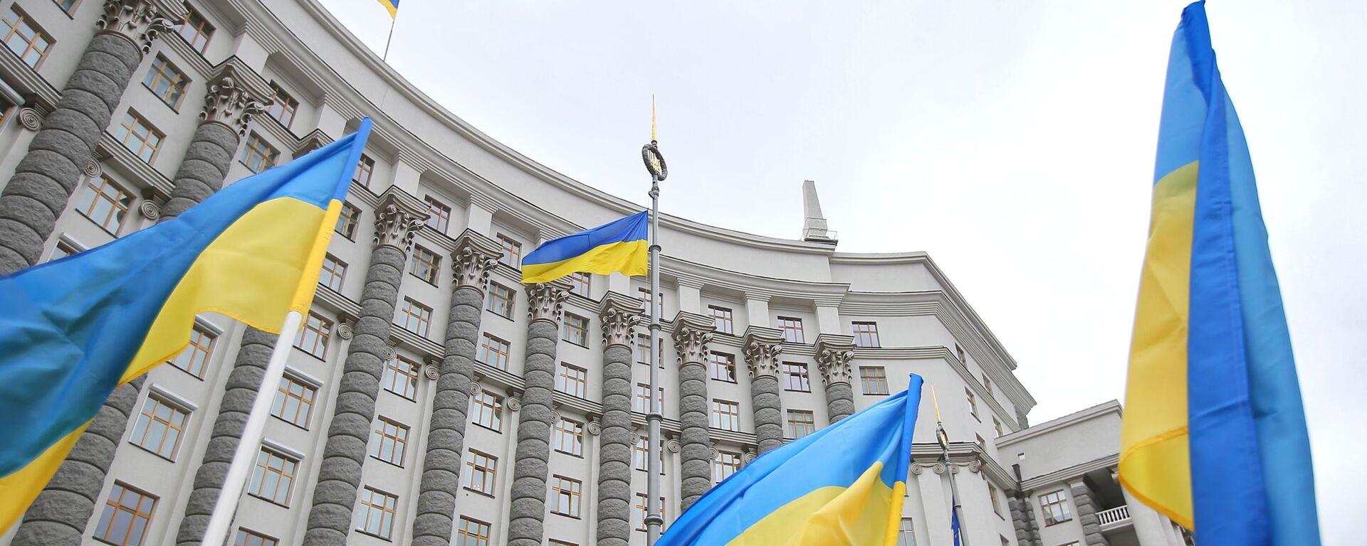 Здание правительства Украины в Киеве. - Sputnik Таджикистан, 1920, 29.12.2020