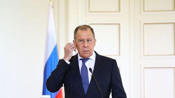 Министр иностранных дел РФ Сергей Лавров, фото из архива  - Sputnik Таджикистан