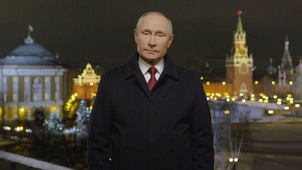 Поздравление Путина с Новым годом - Sputnik Таджикистан