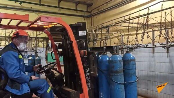 Продукт года: как на белорусском заводе Крион производят кислород - Sputnik Таджикистан