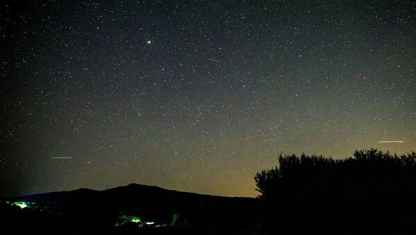 Падение метеорита над Камчаткой  - Sputnik Таджикистан