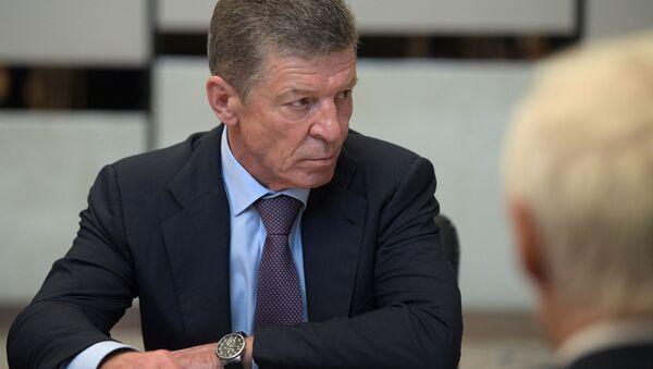 Заместитель председателя правительства РФ Дмитрий Козак - Sputnik Тоҷикистон