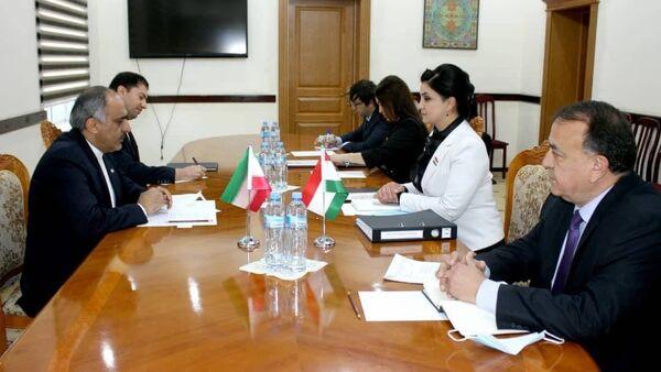 Посол Ирана встретился с министром труда и занятости РТ - Sputnik Тоҷикистон