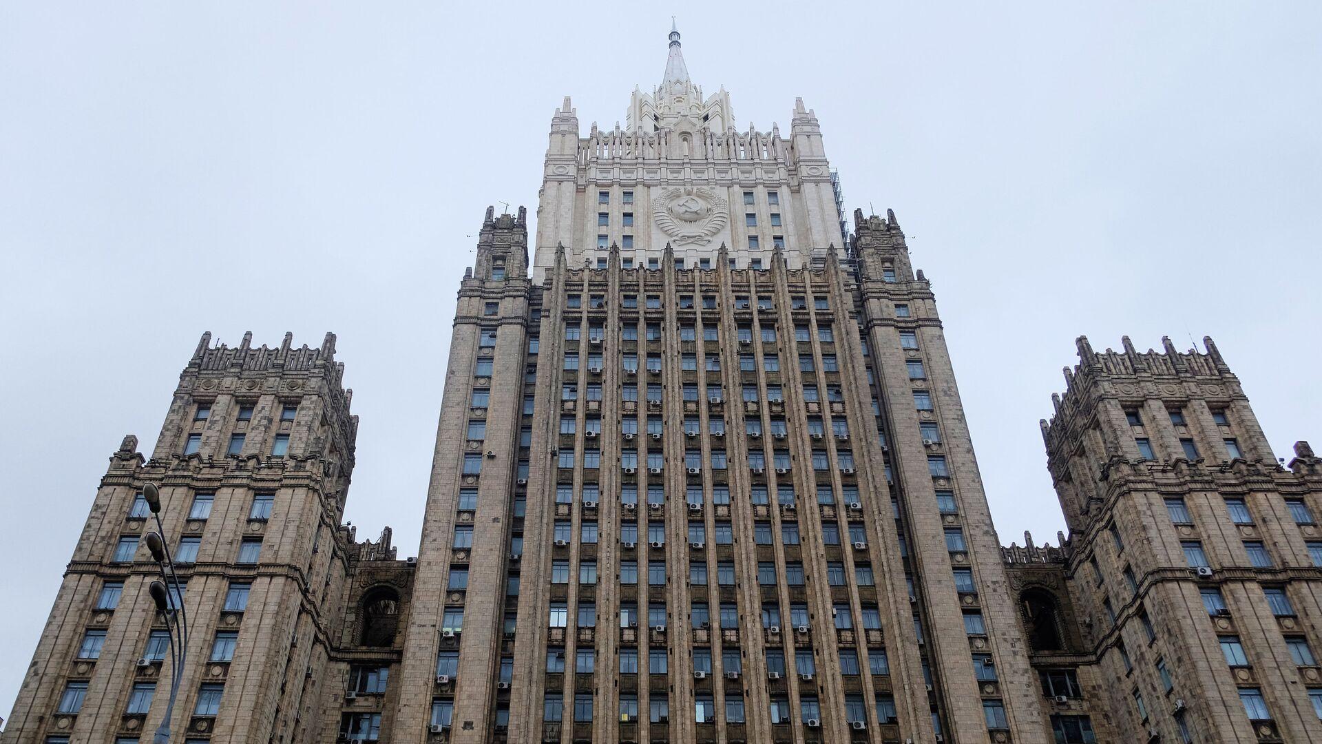 Министерство иностранных дел России - Sputnik Тоҷикистон, 1920, 11.10.2021
