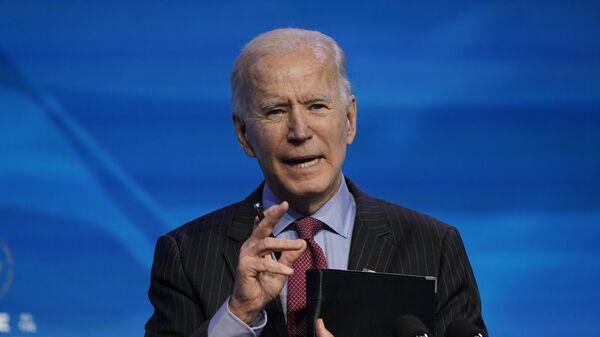 Президент США Джо Байден  - Sputnik Тоҷикистон