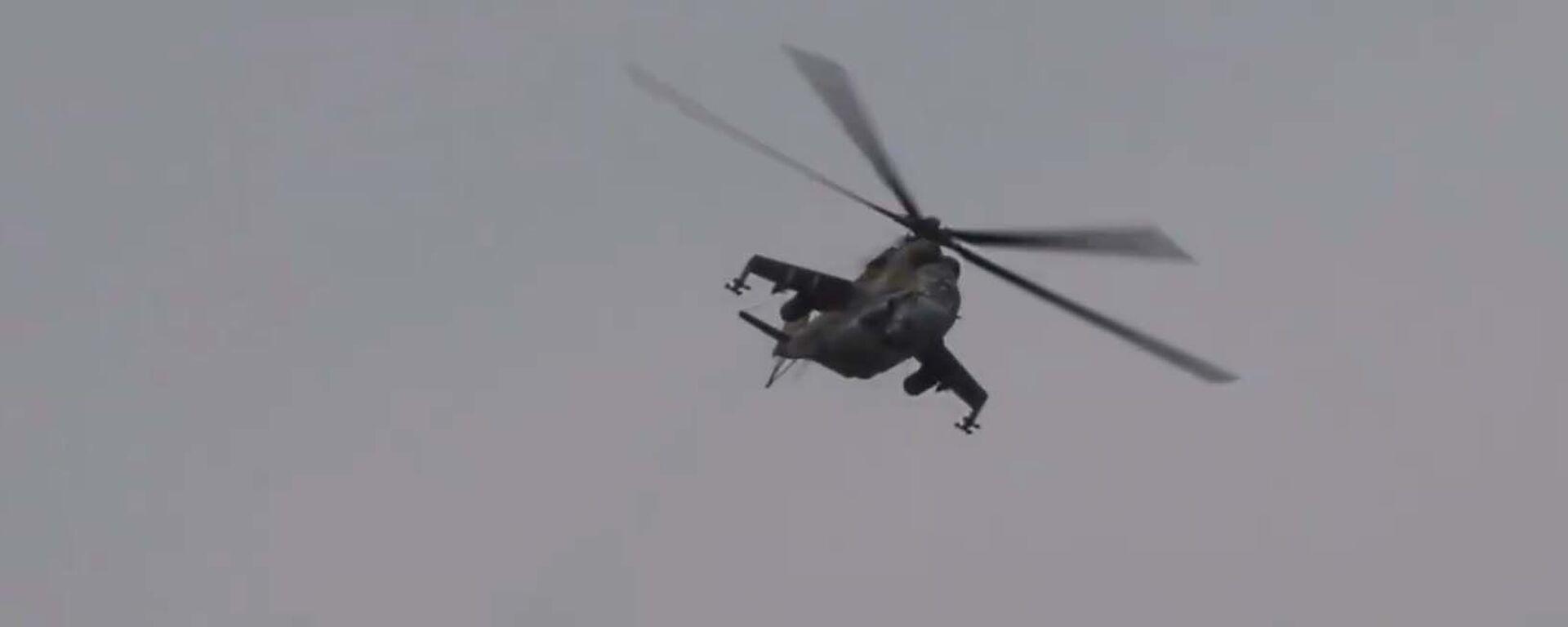 Первые в 2021-м: учения вертолетчиков российской базы в Таджикистане - YouTube - Sputnik Тоҷикистон, 1920, 15.01.2021