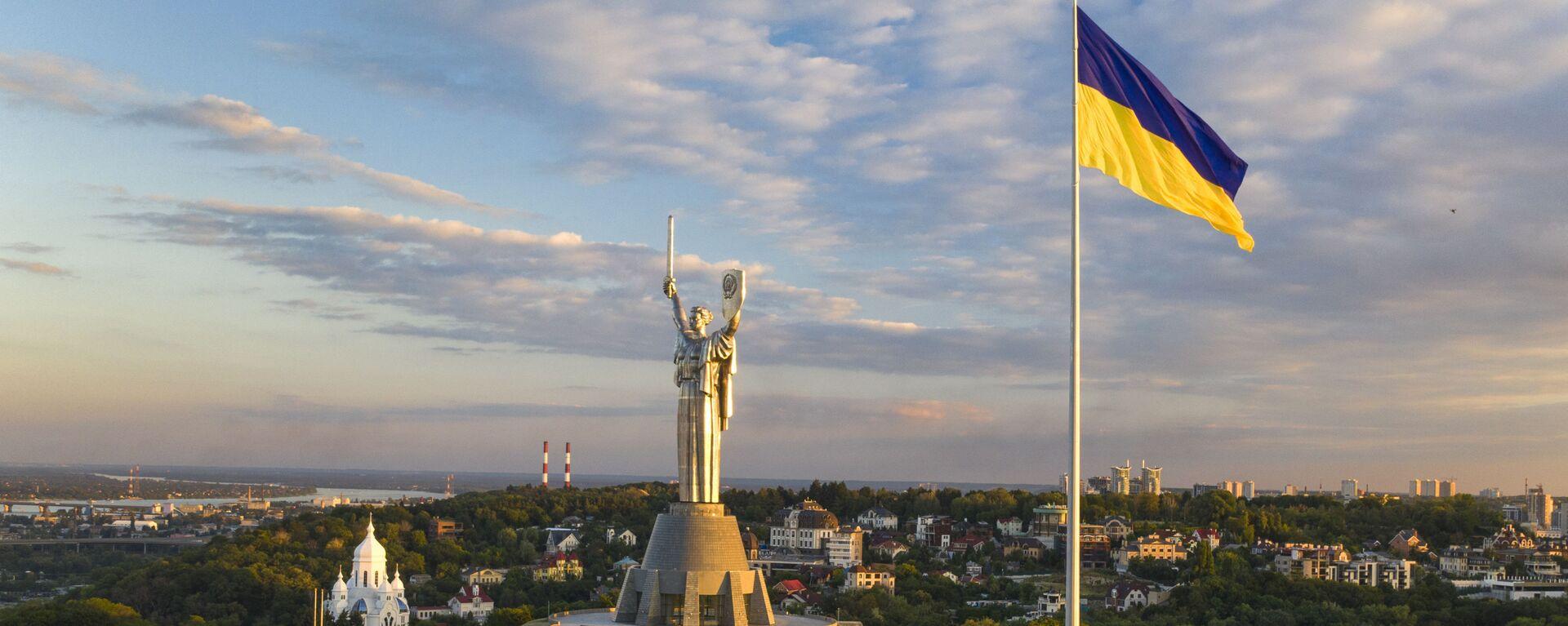Самый большой флаг Украины - Sputnik Таджикистан, 1920, 06.08.2021