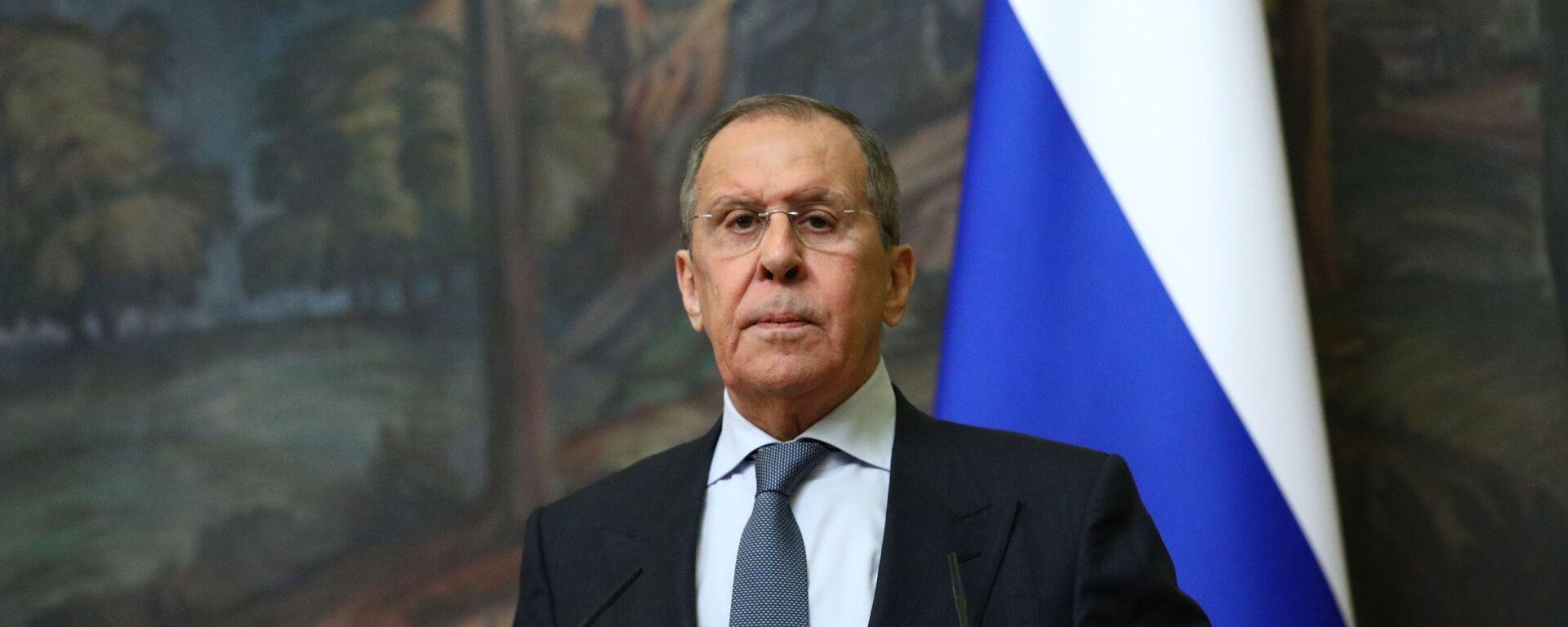 Министр иностранных дел РФ Сергей Лавров - Sputnik Таджикистан, 1920, 12.07.2021