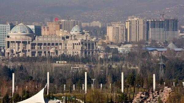 Вид на город Душанбе - Sputnik Тоҷикистон